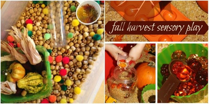 Harvest Sensory Bin Activities